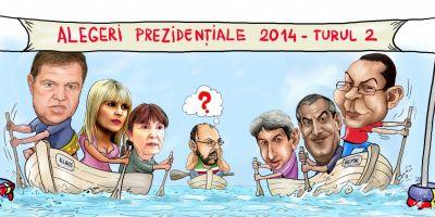 De la cine pot lua voturi Ponta si Iohannis in turul II