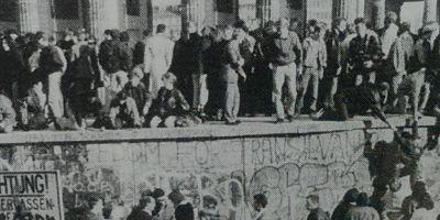 Mesaj misterios pe Zidul Berlinului: