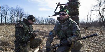 Batalioane islamiste ajuta Ucraina in razboiul cu rebelii din est:
