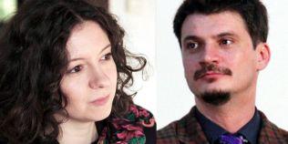 Regizoarea Ana Lungu si actorul Emilian Oprea fac