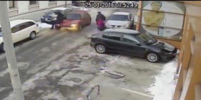 VIDEO Tanarul care a lovit intentionat cu masina un barbat va fi prezentat astazi instantei, cu propunere de arestare preventiva