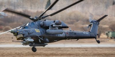 Un elicopter rusesc Mi-28N s-a prabusit in provincia siriana Homs. Cei doi piloti au murit