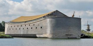 O replica a Arcei lui Noe ar putea traversa Atlanticul in 2016