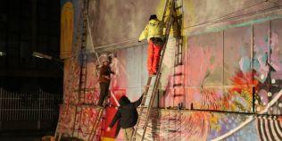 Proiect unic la Vaslui: una dintre cele mai mari inchisori din Romania, pictata de zeci de artisti intr-o imensa