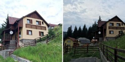 VIDEO Bugetarii moldoveni cu vile in Romania: