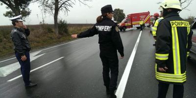 Trafic ingreunat pe DN1, in zona Balotesti, in urma unui accident. Coloanele de masini s-a intins pe aproximativ cinci kilometri