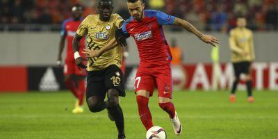 Steaua a obtinut prima victorie in grupele Ligii Europa si spera inca la o calificare in primavara europeana