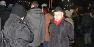 Filosoful Mihai Sora, la peste 100 de ani, participant la proteste