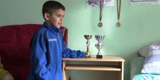 Viata dura a unui campion la arte martiale de 9 ani.