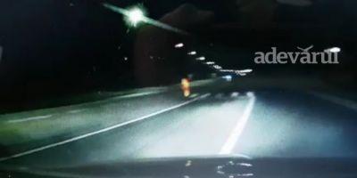 VIDEO Soferul care a murit in accidentul teribil de la Tartasesti s-ar fi sinucis. Imagini de la bordul masini
