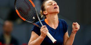 Simona Halep, din nou in finala turneului de la Madrid, dupa o noua evolutie entuziasmanta
