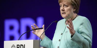 Angela Merkel si-a exprimat sustinerea pentru reformele Uniunii Europene propuse de Emmanuel Macron