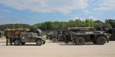 60 de militari romani sunt blocati pe perioada nedeterminata in Germania, unde trebuie sa aiba grija de tancurile romanesti