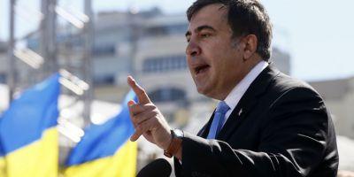 Mihail Saakasvili a intrat in greva foamei