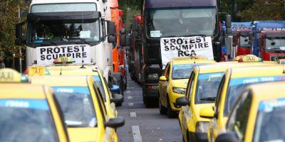 Transportatorii vor protesta astazi in fata Guvernului. COTAR anunta pana la 5.000 de participanti