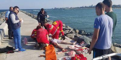 Cine este tanarul care a murit inecat in valuri. Marea a facut prima victima din acest an